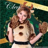 【クリスマスコスプレ 衣装】キャンディートナカイ