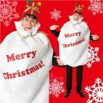 【クリスマスコスプレ 衣装】袋マン