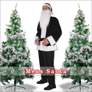 メンズサンタ Men's Santa costume BLACK VELVET ブラック
