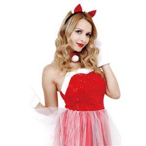 クリスマスコスプレ/衣装 【Cat Lady Santa キャットレディサンタ】 レディース 『CLUB QUEEN』