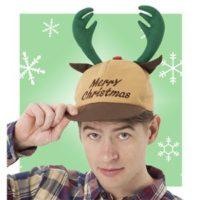 【クリスマスコスプレ 衣装】 トナカイキャップ
