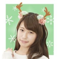 【クリスマスコスプレ 衣装】 フラワートナカイカチューシャ